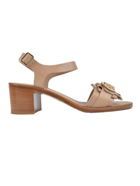 Salvatore Ferragamo sandals nude shoes