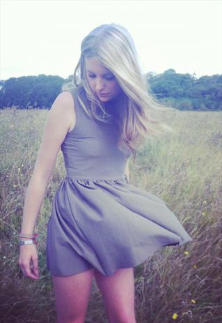 Khaki mini prom dress | eLCy | ASOS Marketplace
