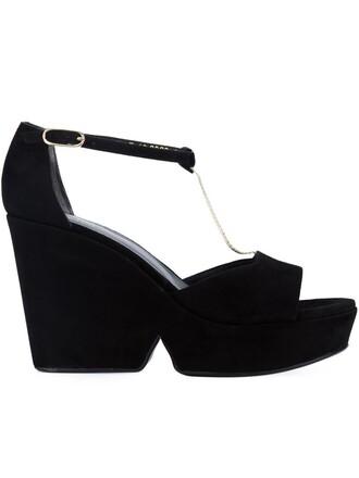 daisy sandals black shoes