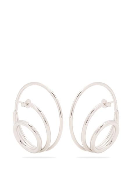 silver earrings earrings silver jewels