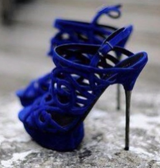 shoes blue royal blue heels cobalt
