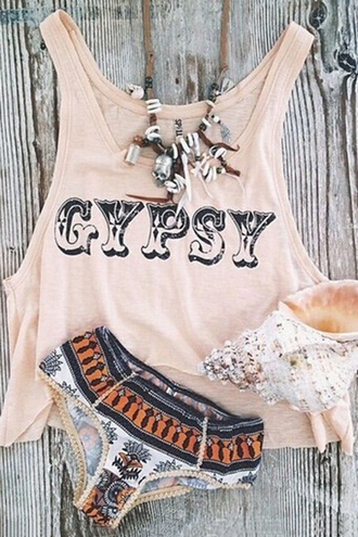 top gypsy fashion summer style trendy boho cool spring beach