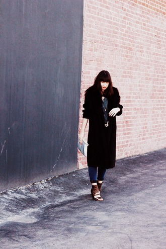 shoes bag jeans coat the stylish wanderer
