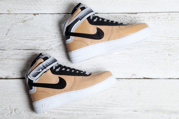 shoes tan nike nike air force 1 nike air force 1
