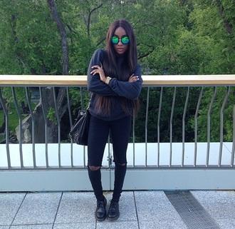 jeans sunglasses