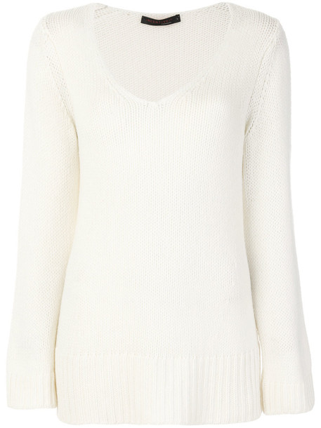 Incentive Cashmere sweater women white