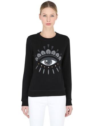 sweatshirt light cotton black sweater