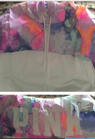 jacket pink victoria's secret