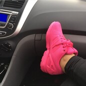 shoes,adidas,adidas shoes,pink,hot pink,sneakers
