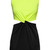 ROMWE | Color Block Cut-out Twined Slim Dress, The Latest Street Fashion