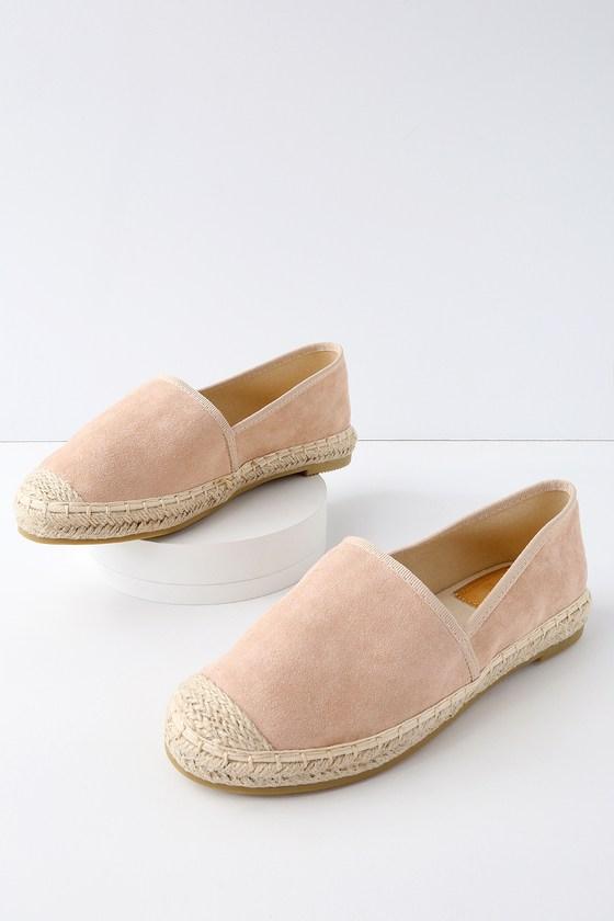 47c9466ed56 Gamila Mauve Suede Slip-On Espadrille Sneakers