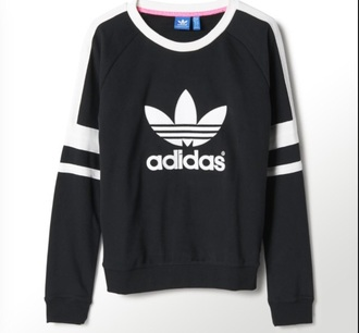 sweater adidas originals black logo adidas sweater adidas women black and white adidas hair accessory crewneck sweater blouse swetshirts