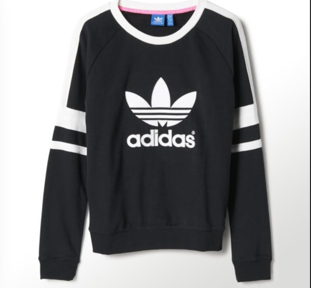 sweater adidas originals black logo adidas sweater adidas sweater adidas women black and white adidas hair accessory crewneck sweater blouse swetshirts adidas