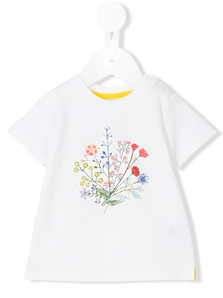 Fendi Kids t-shirt shirt t-shirt spandex white cotton print top