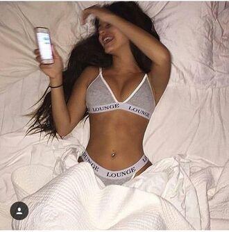 underwear grey underwear grey tumblr black underwear lounge wear lounge underwear