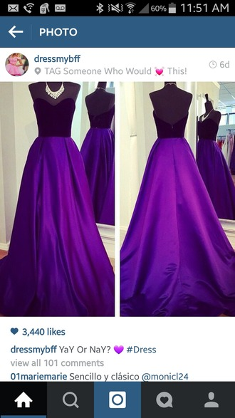 dress purple dress little black dress