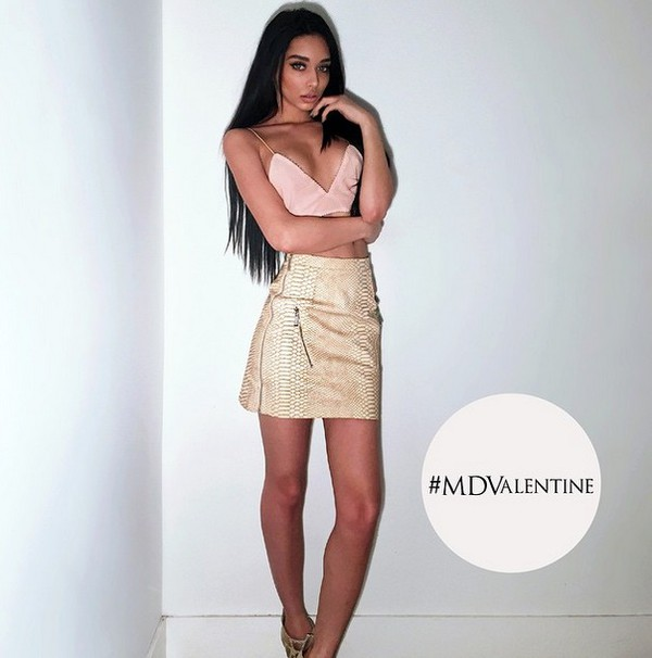 Skirt: nude, leather, mini skirt, beige - Wheretoget