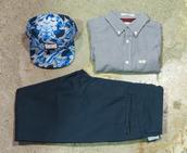 hat,snapback,brother,tahiti,original chuck,menswear,checked shirt