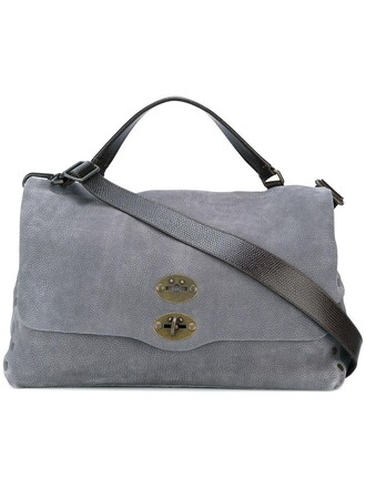 women bag tote bag leather grey
