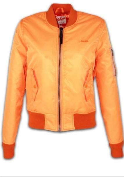 jacket neon orange orange bomber bomber jacket bomber jacket neon bomber style nice summer