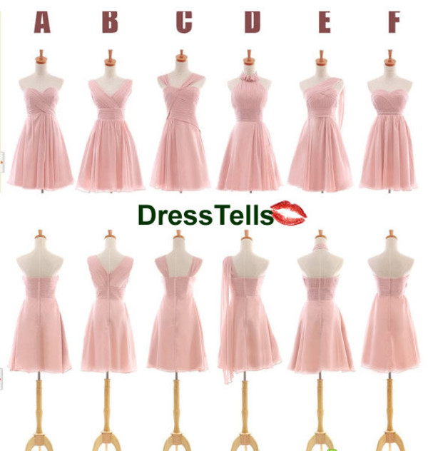dress bridesmaid short bridesmaid dress bridesmaid pink dress