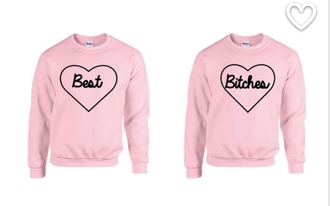 sweater pink bff sweaters
