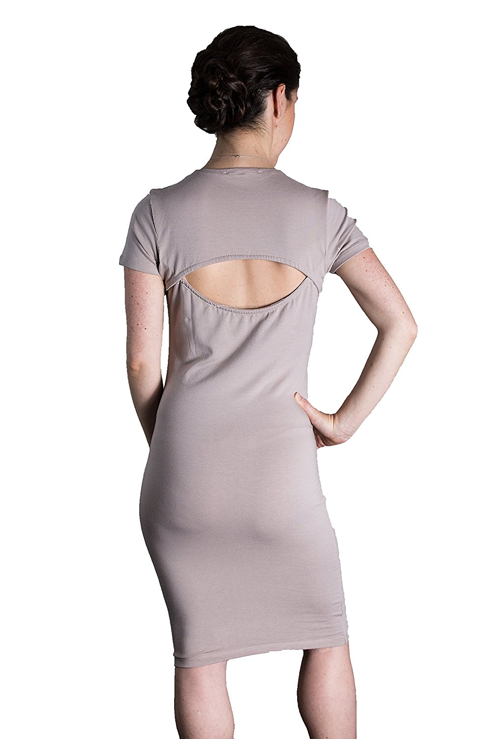 Matron Saint Women's The Rebel Open Back Dress for Maternity and Beyond at Amazon Women's Clothing store: