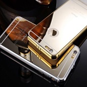 phone cover,silver case,nice,mirror phone case,schimmery,iphone cover,iphone case,iphone 5 case,iphone 6 case,silver,gold,gold case,mirror,mirror iphone 5s case,iphone5s case,iphone mirror case