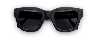 sunglasses black wood black wood acne studios