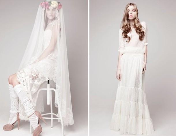 dress bohemian wedding wedding clothes wedding dress hipster wedding