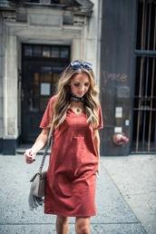 merrick's art // style + sewing for the everyday girl,blogger,dress,jacket,shoes,red dress,shoulder bag,mini dress,suede dress,burgundy,burgundy dress