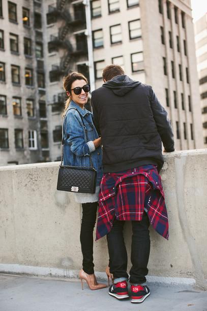 hello fashion blogger jacket cardigan bag jewels sunglasses top jeans