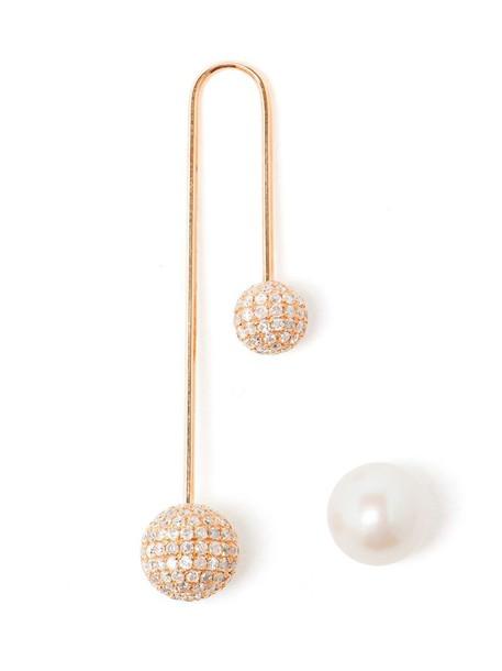 Asherali Knopfer pearl gold purple pink jewels