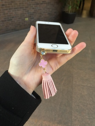 phone cover phone dust plug cellphone case dust plug pastel phone case