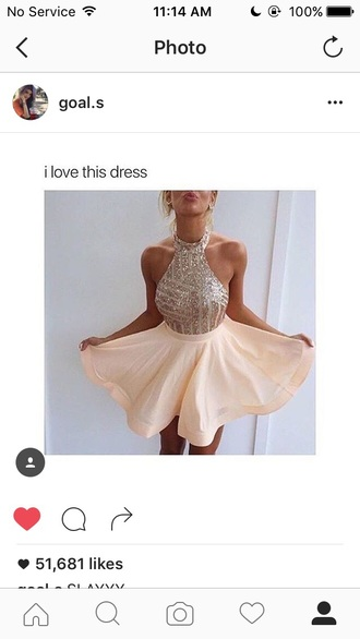 dress gold glitter dress sequin dress instagram dress