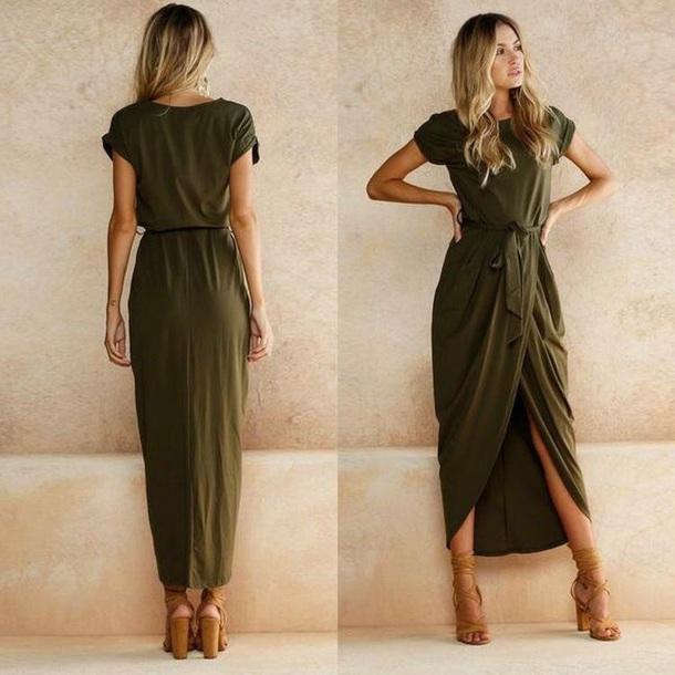 dress t-shirt dress green dress black dress wrap dress casual dress