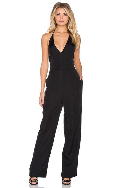 Minkpink jumpsuit backless black