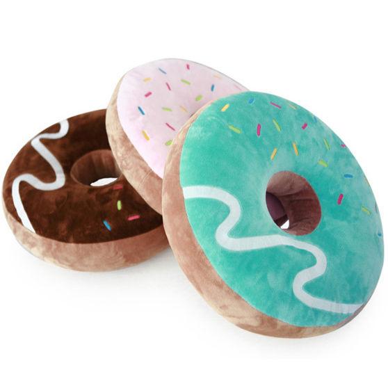 Doughnut Cushion plush Choco/Strawberry/Mint donut Cottonfood cute