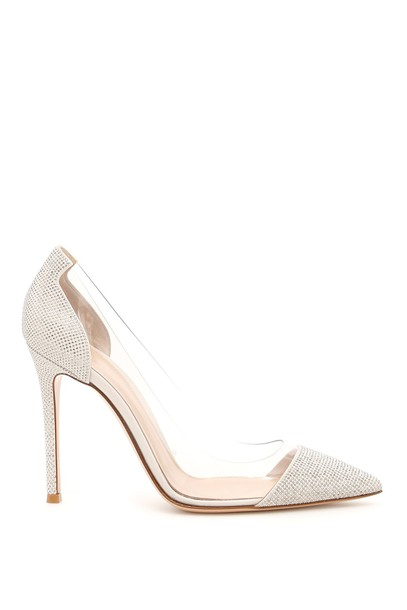 Gianvito Rossi studs pumps suede shoes