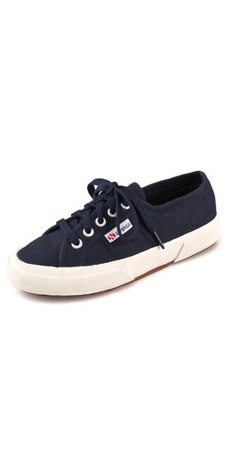 classic sneakers lace navy shoes