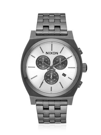 watch white grey jewels