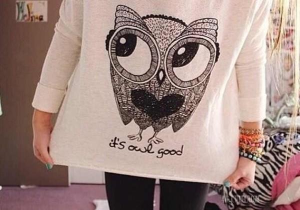 t-shirt cute tshirt oversized t-shirt owl owl shirt cute shirt graphic tee