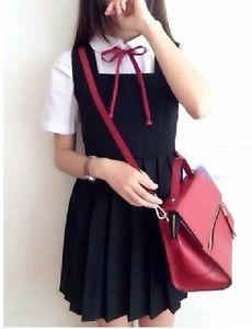 6bfd7fb0ca2 Orthodox Japan Japanese Student Uniform Jumper Skirt Pleated Dress JK 4  Colors
