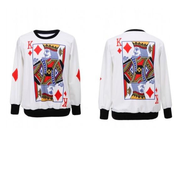fashion sweater sweater/sweatshirt king of the hill
