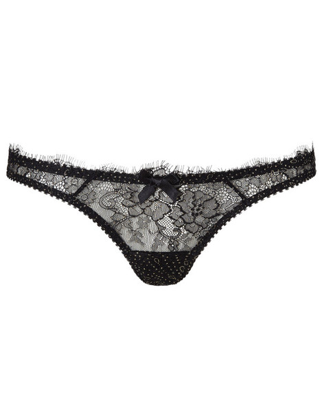 L'Agent mini lace black black lace