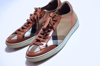 shoes burberry burberry shoes brown red white tan boat shoes burberry women