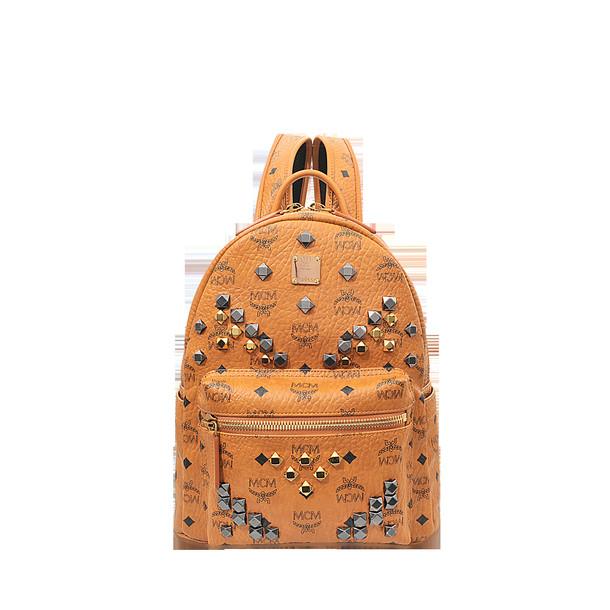 MCM studs backpack bag