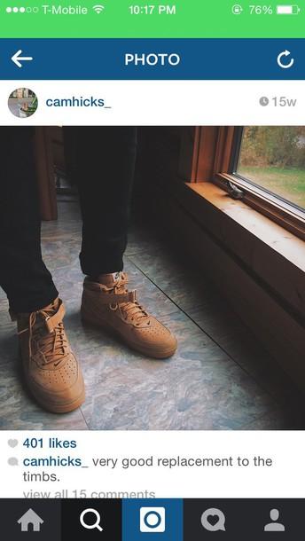 shoes cute tan nike running shoes