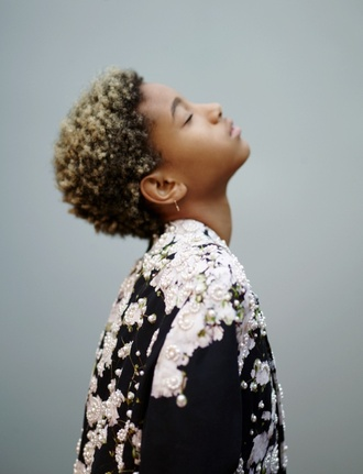 shirt floral pearl willow smith black