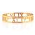 Roman Empress Bangle - Gold